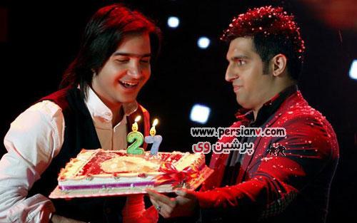 کیک جشن تولد برخی بازیگران و هنرمندان مشهور سینما و تلویزیون