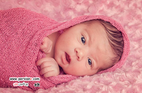 تصاویر بانمک از نوزادانی با ژست های حرفه ای
