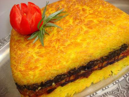 طرز تهیه ته چین مرغ غذای محبوب هر ایرانی