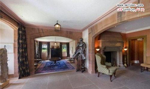 چشم تیلور سوئیفت این خانه قلعه ای را گرفته است