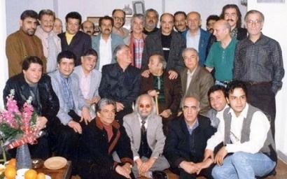 عکس جالب از مردان دوبله ایران