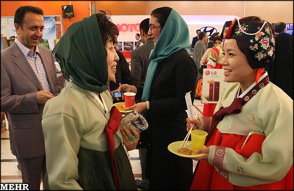 عکس :جضور دایه یانگوم در تهران !