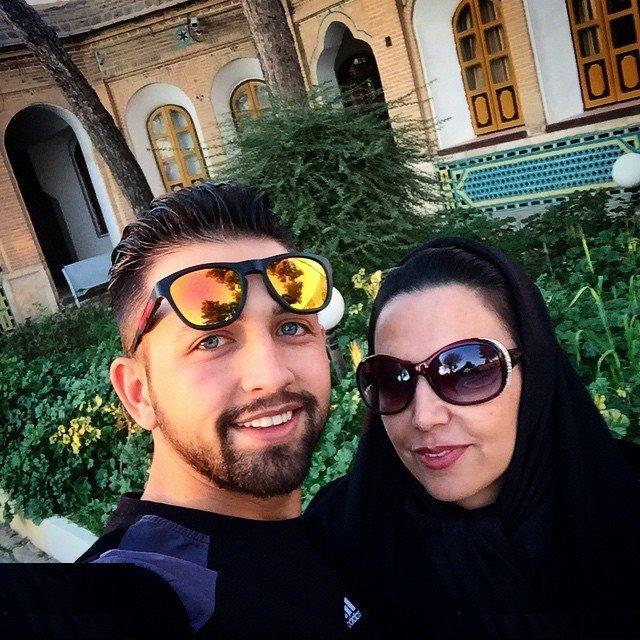تبریک تولد متفاوت محسن افشانی برای مادرش