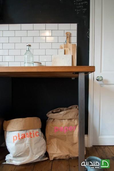 انواع مدلهای زیبا و بسیار متفاوت سطل زباله در خانه ها