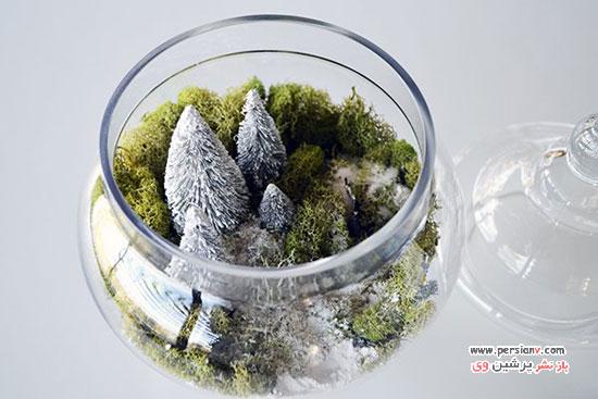 تزئینات دکوری زیبا در منزل در فصل زمستان