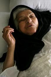 عکس : دیدار با پروین سلیمانی در بیمارستان