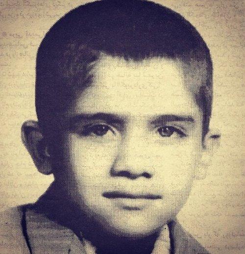 دوران کودکی احمدرضا عابدزاده