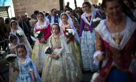 چهارشنبه سوری یا همان لاس فالاس در اسپانیایی