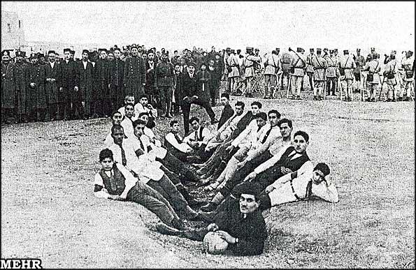 اولین تیم فوتبال ایران 1919  تصویر