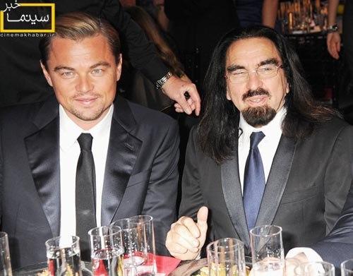 لئوناردو دی کاپریو و پدرش جورج