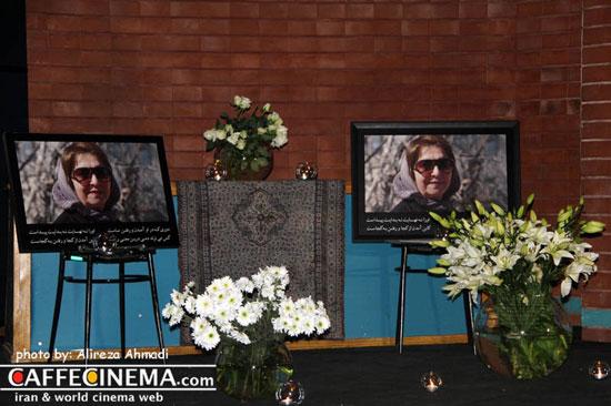 مراسم یادبود مرحوم ژیلا مهرجویی