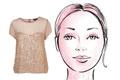 مدلهای مناسب لباس برای صورتهای بیضی
