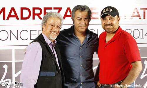 تصاویری از کنسرت محمدرضا هدایتی با حضور بازیگران مشهور