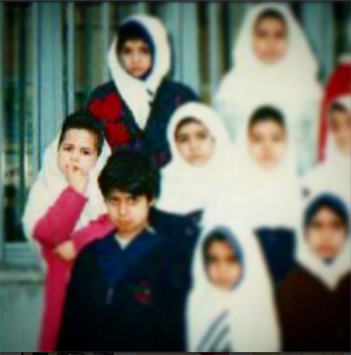 عکس روز اول مدرسه ملیکا شریفی نیا