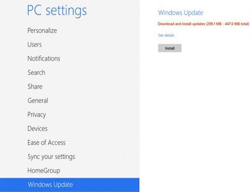 آموزش نصب ویندوز 8.1 مایکروسافت