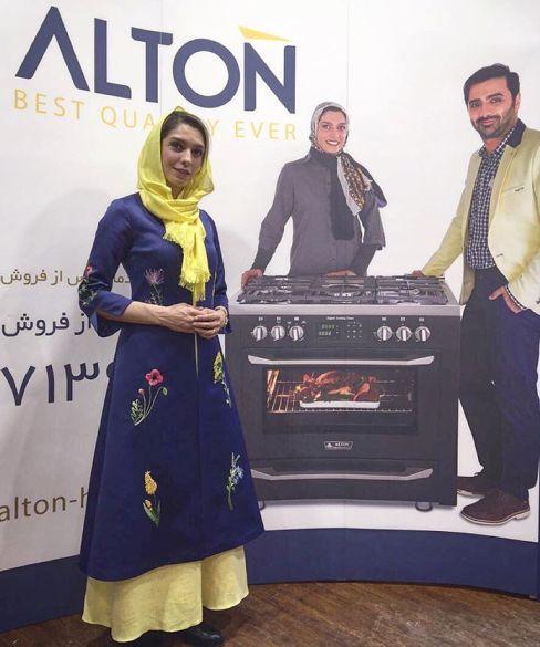 عکس های تبلیغاتی جدید الیکا عبدالرزاقی و همسرش برای یک برند