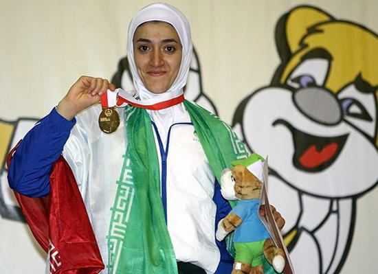 تکواندوکار زن ایرانی افتخار آفرینی کرد