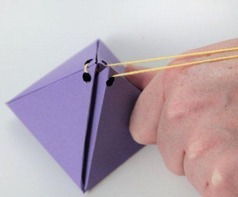 جعبه کادوی هرمی