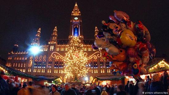 آشنایی با زیباترین بازارهای کریسمس اروپا
