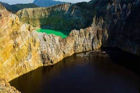 5دریاچه رنگی جهان تصاویر
