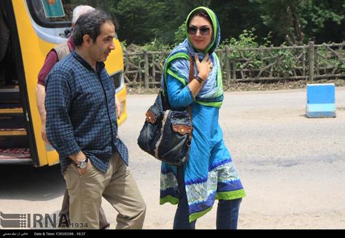 گردش و طبیعت گردی بازیگران و هنرمندان مشهور در بهشهر مازندران