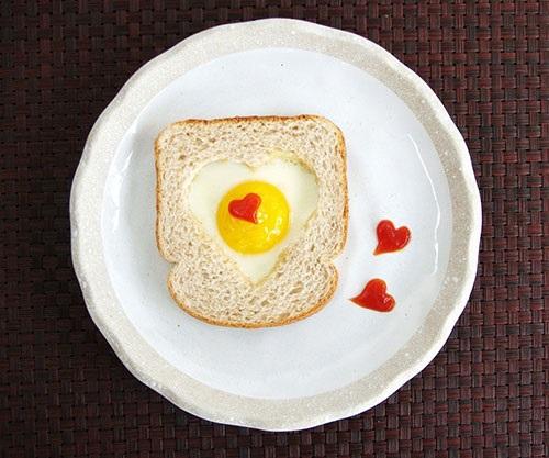 تزئین تخم مرغ صبحانه برای بچه های کم اشتها
