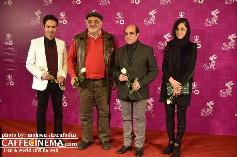 عکسهای بازیگران در افتتاحیه سی و چهارمین جشنواره فیلم فجر