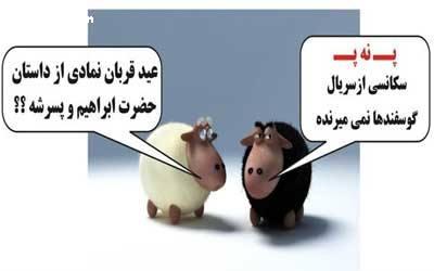 کاریکاتور های جالب و تصاویر طنز پ ن پ