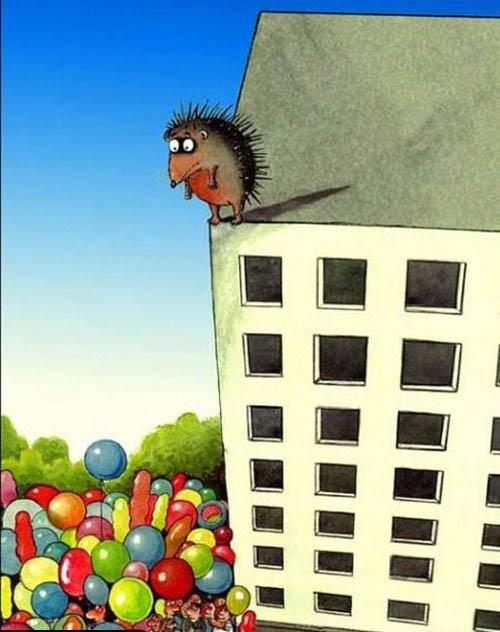 مجموعه کاریکاتورهای جالب و مفهومی (14)
