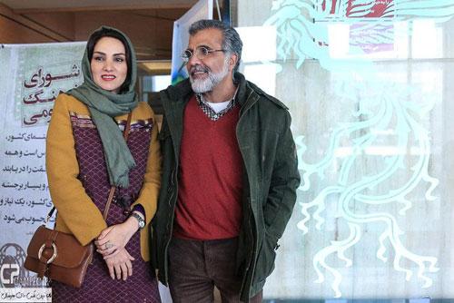 بهروز افخمی و همسرش مرجان شیر محمدی