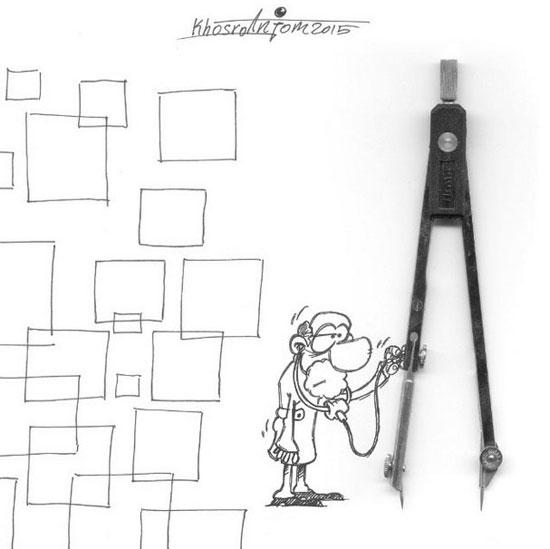 کاریکاتورهای جالب مجید خسروانجم