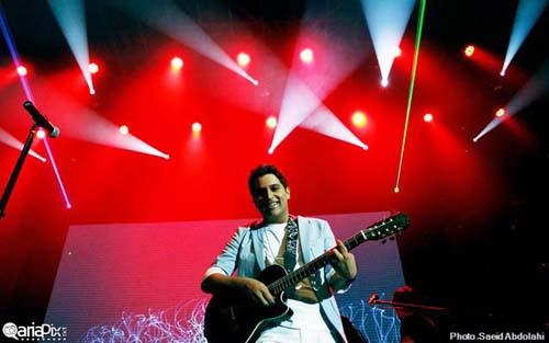 عکسهای کنسرت جدید حمید عسکری