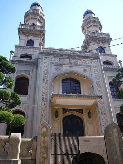 مسجد کوبه اولین مسجد ساخته شده در ژاپن ( عکس)