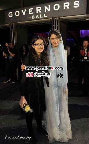 حضور لیلا حاتمی و دختر اصغرفرهادی در اسکار عکس