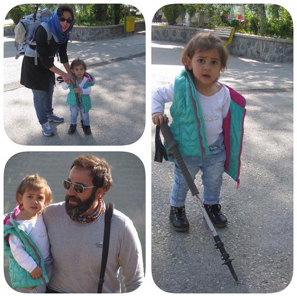عکس های جدید از آرش مجیدی و همسرش میلیشیا مهدی نژاد