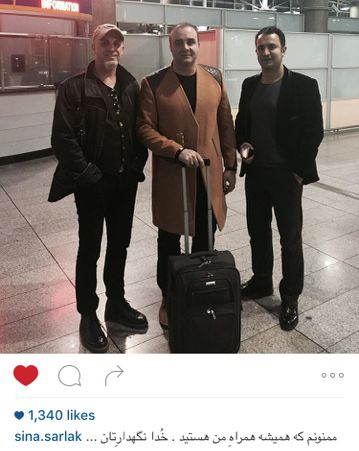 سینا سرلک ، خواننده شهرزاد برای ادامه زندگی به آمریکا رفت!