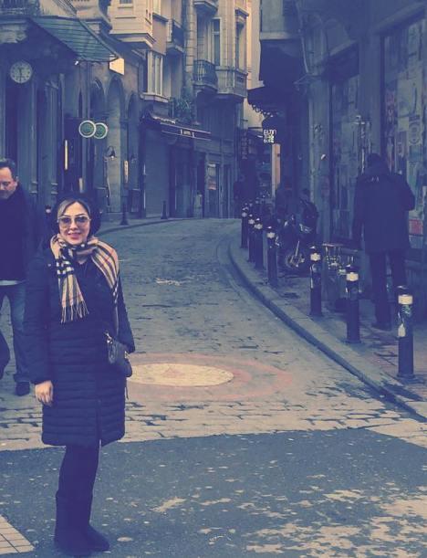 تیپ جدید لیلا اوتادی در کشور ترکیه و قبرس!