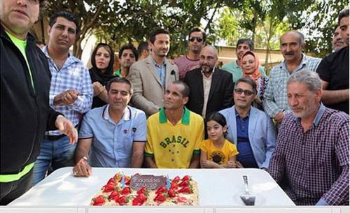 جشن تولد ریوالدو با حضور رضا عطاران