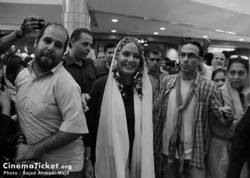 رضا عطاران و مهناز افشار در اکران مردمی نهنگ عنبر