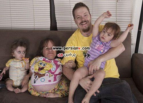 عکسهای دیدنی باردار شدن مادری70 سانتی متری !!!