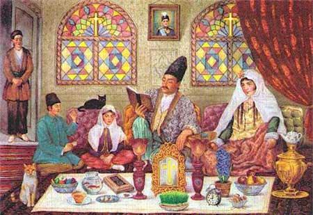 آداب و سنن ایرانیان باستان به مناسبت عید نوروز