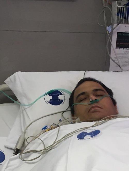 آخرین وضعیت جسمانی رضا داوودنژاد بعد از عمل جدیدش