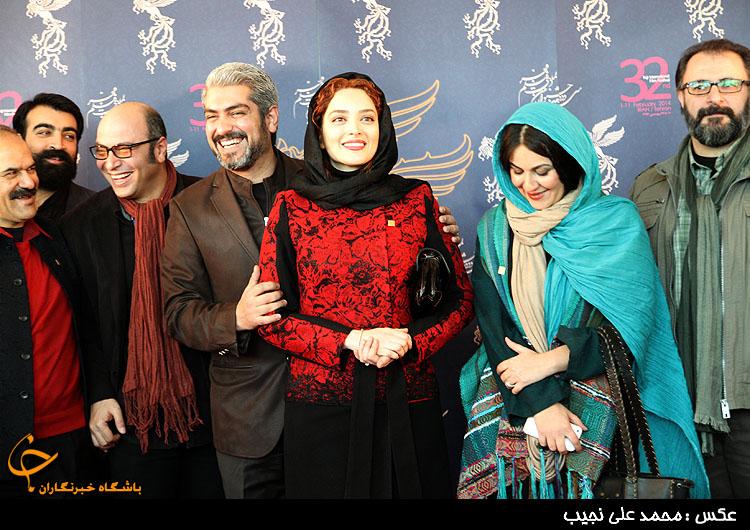 عکسهای متفاوت بهنوش طباطبایی و همسرش در کاخ جشنواره فیلم فجر