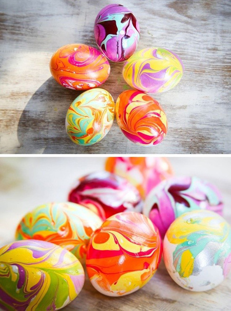 تزیین تخم مرغ عید با مدل های جدید