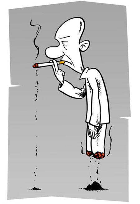مجموعه کاریکاتورهای اعتیاد به مواد مخدر(2)
