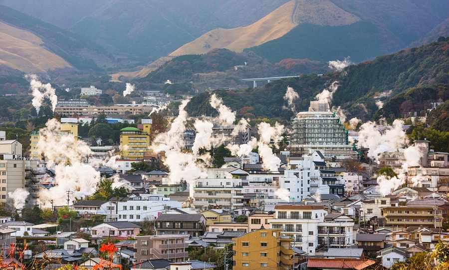 شهر جهنم در ژاپن