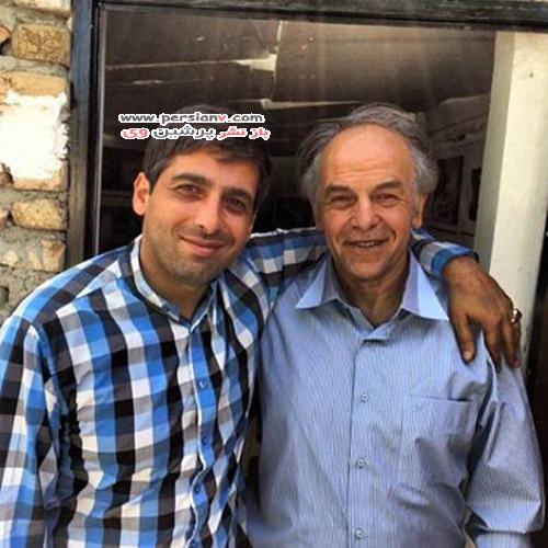 عکس های متفاوتی از حمید گودرزی همراه پدر و مادرش