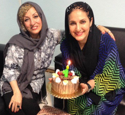 عکسی از جشن تولد 52 سالگی فاطمه گودرزی