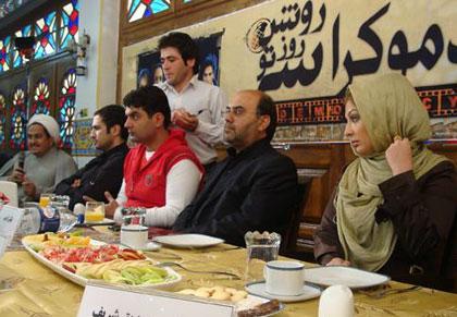 عکس : محمدرضا گلزار در نقش عزرائیل