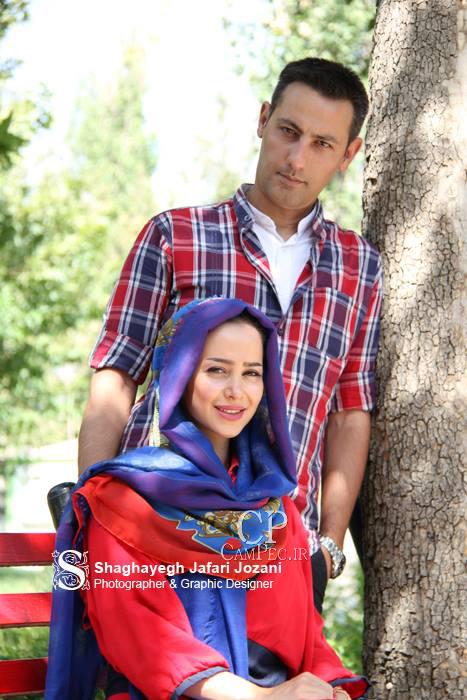 عکسهای جدید الناز حبیبی و همسرش